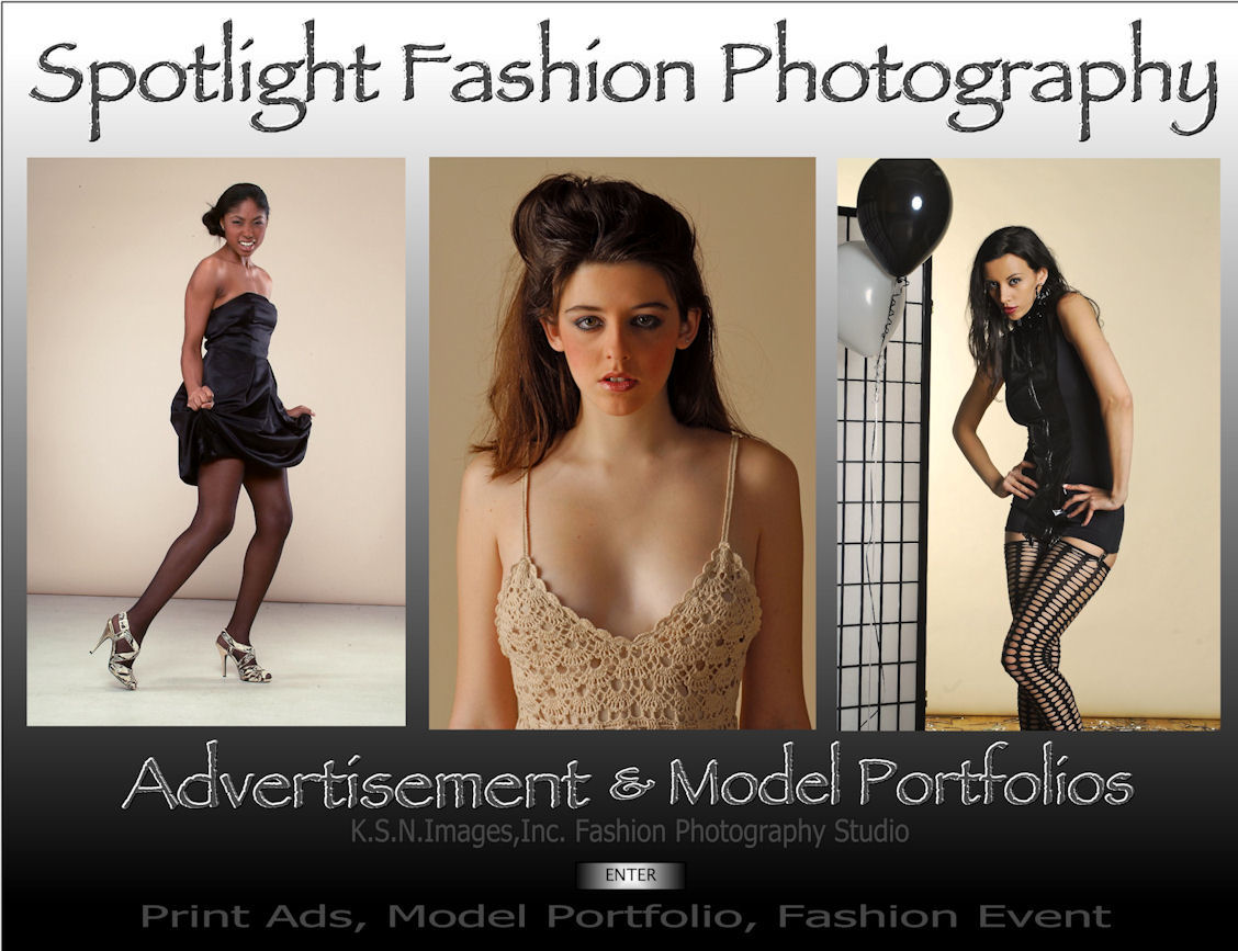 Click to ENTER Spotlight Fashion Photography and Glamour Photography